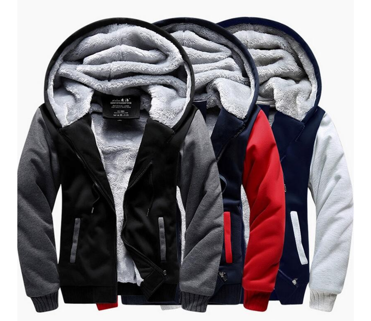 Donald Trump Super Warm Thicken Fleece Zip Up Hoodie Jacket