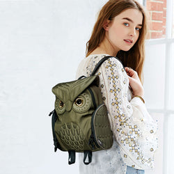 New Fashion Owl Shoulder Bag Women's Backpack