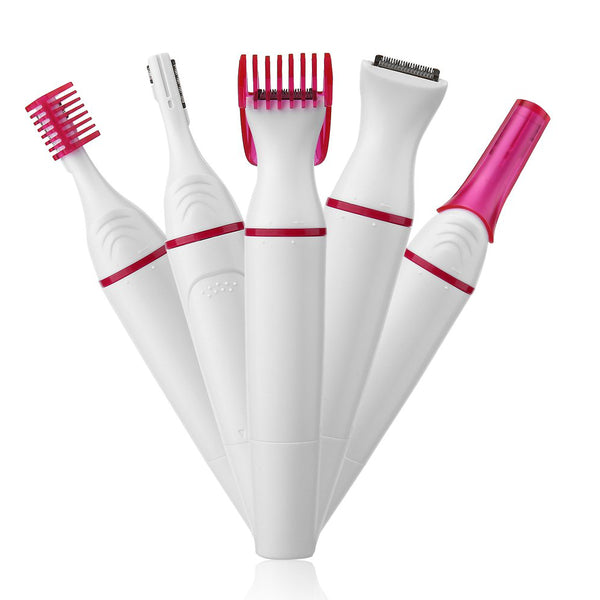 5 in 1 Multifunction Women Hair Removal Trimmer