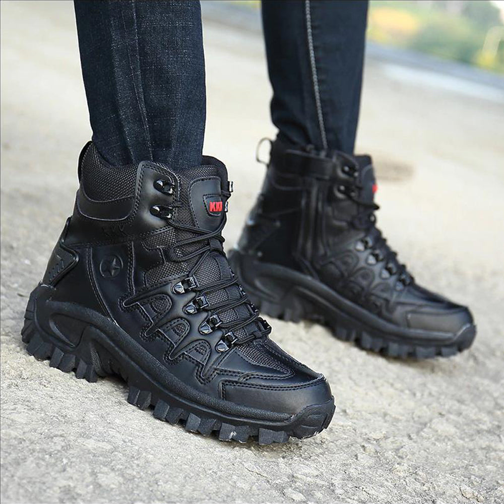 Men's Military Tactical Army Hiking Combat Ankle Boots