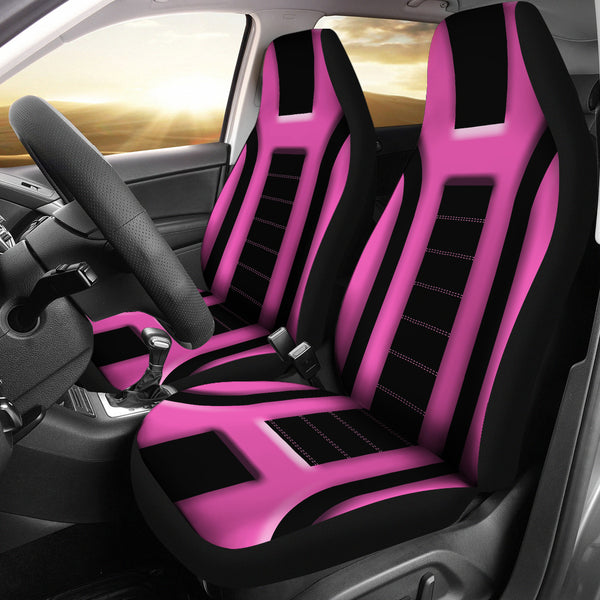 Pink Pattern Seat Covers For All Car
