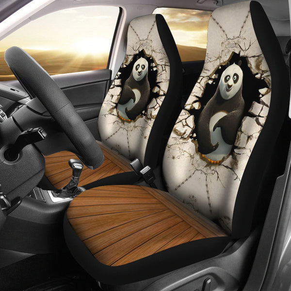 Kung Fu Panda Seat Covers For All Car