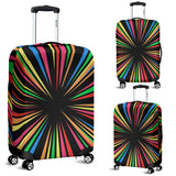 Abstract Rainbow Luggage Covers