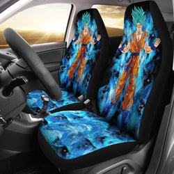 Goku SSB Seat Covers For All Cars