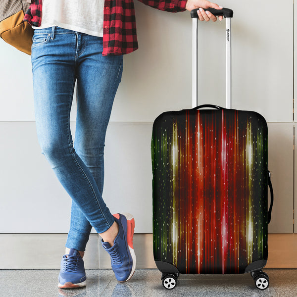Colorful Pattern Lines Luggage Covers