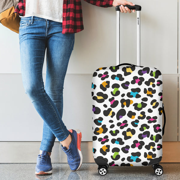 Leopard Skin Pattern Luggage Covers