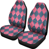 Pink and Grey Seat Covers For all Cars