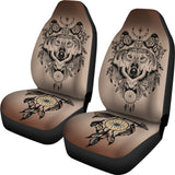 Aztec Wolf Dream Catcher Seat Covers For All Car