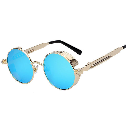 74fdd71fc0 Mens Round Circle Sunglasses Retro Vintage – OffersPlace