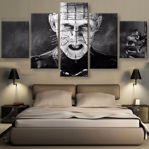 Pinhead 5 Piece Canvas Wallart - HD Quality