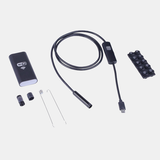 Tube Inspection Wire CMOS Waterproof Camera For PC And Android Smartphone