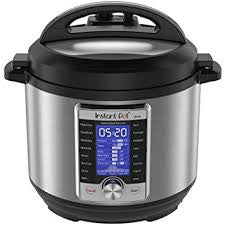 Instant Pot Ultra 10-in-1 ,Smart Electric Pressure Cooker, Stainless Steel, 6 quart