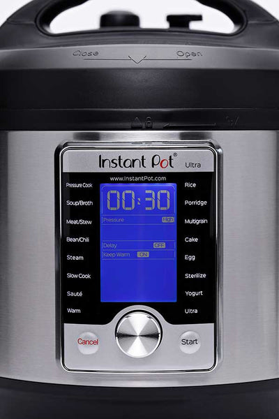 Instant Pot Ultra 10-in-1 ,Smart Electric Pressure Cooker, Stainless Steel, 6 quart (110-120v)