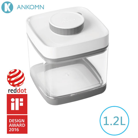 Ankomn Savior Non-electric vacuum sealer food container - Gray (1.2 L)