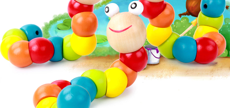 Wooden Worm Twister