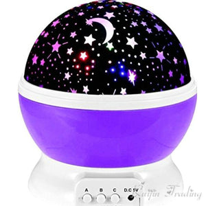 Baby Lamp Night Sky Projection