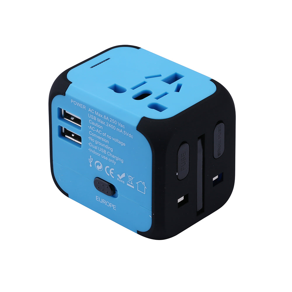 All-in-1 Travel Adapter with USB