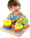 Wooden Educational Building Blocks