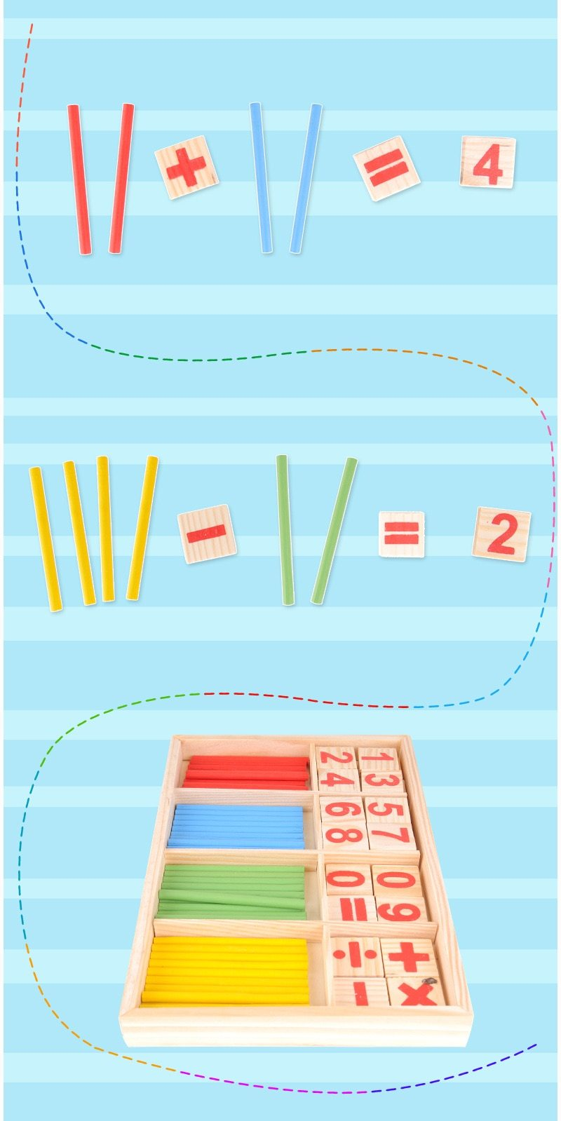 Montessori Math Toy