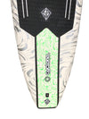 Scott Burke 10'6 Cyclone Classic Foam Stand Up Paddleboard Package