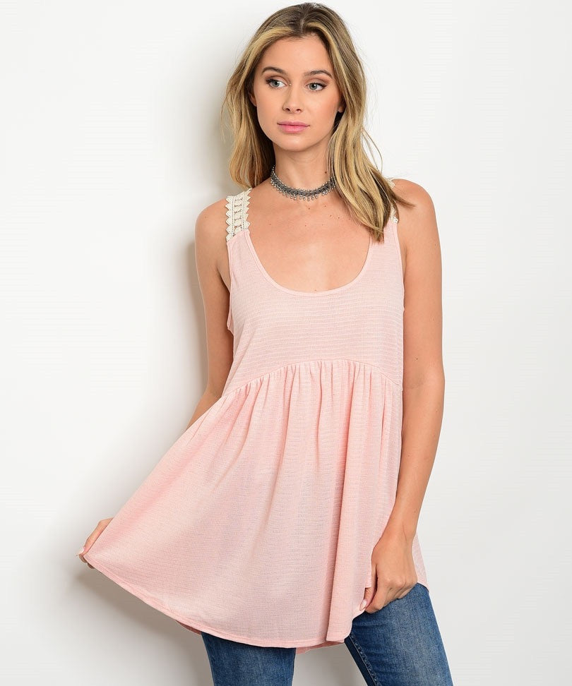 Peach Cream Top