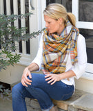 Fall Colored Blanket Scarf