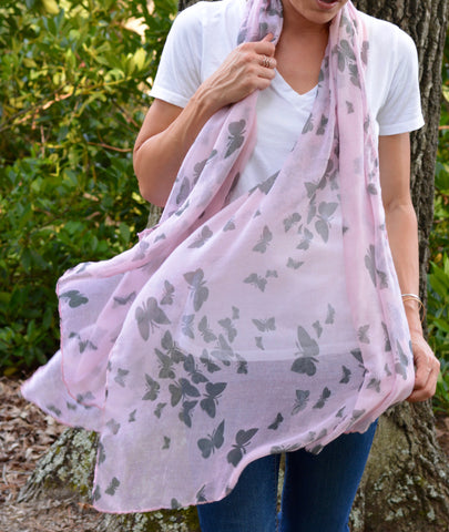 Simple Butterfly Scarf