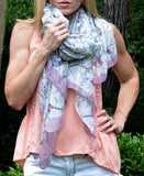 Bird and Branch Scarf | 2 Color Options