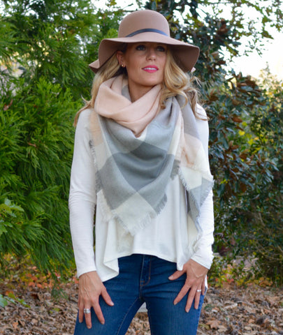 Beautiful Blanket Scarf