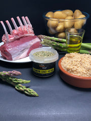 Ingredients Lemon and herb lamb