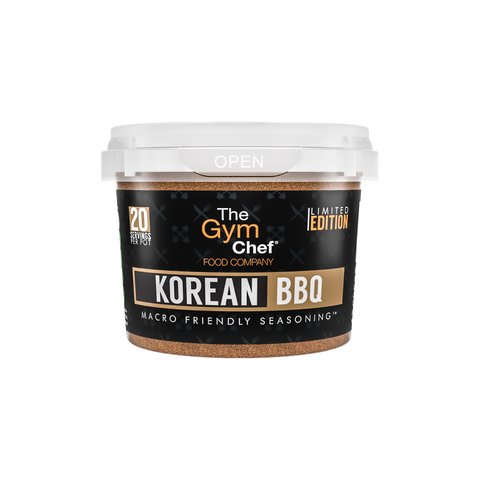 The Gym Chef Korean BBQ Macro Friendly Seasoning - VERY LIMITED STOCK