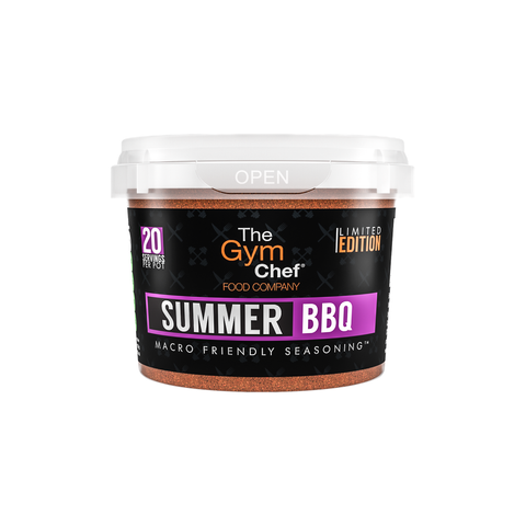 The Gym Chef Summer BBQ Macro Friendly Seasoning - VERY LIMITED STOCK