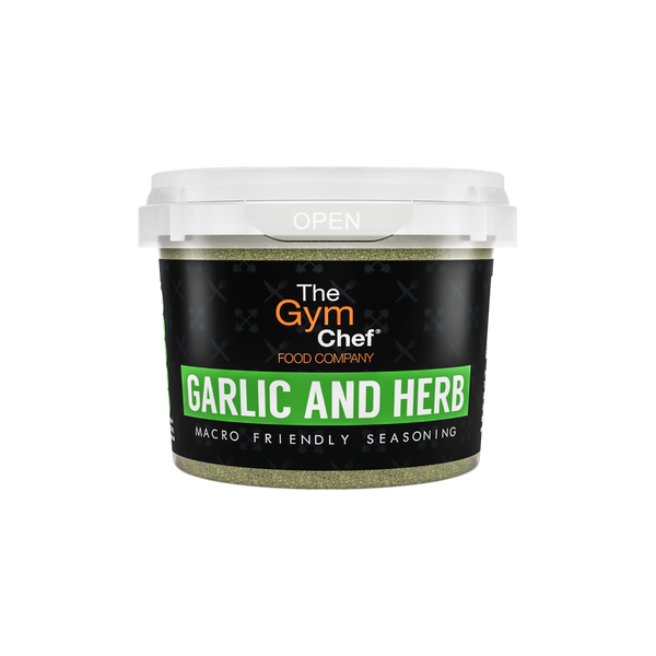 The Gym Chef Garlic and Herb Macro Friendly Seasoning