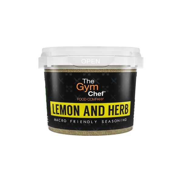 The Gym Chef Lemon and Herb Macro Friendly Seasoning