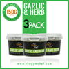 Garlic and Herb Seasoning Pots 3 Pack