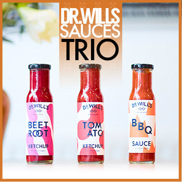 Bundle: 3 x Dr Wills Clean Sauces