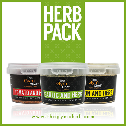 Herb Pack: Garlic & Herb, Lemon & Herb, Tomato and Herb