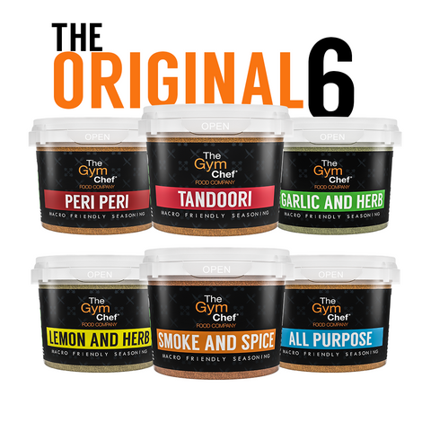 The Gym Chef Original Flavours 6 Saver Bundle