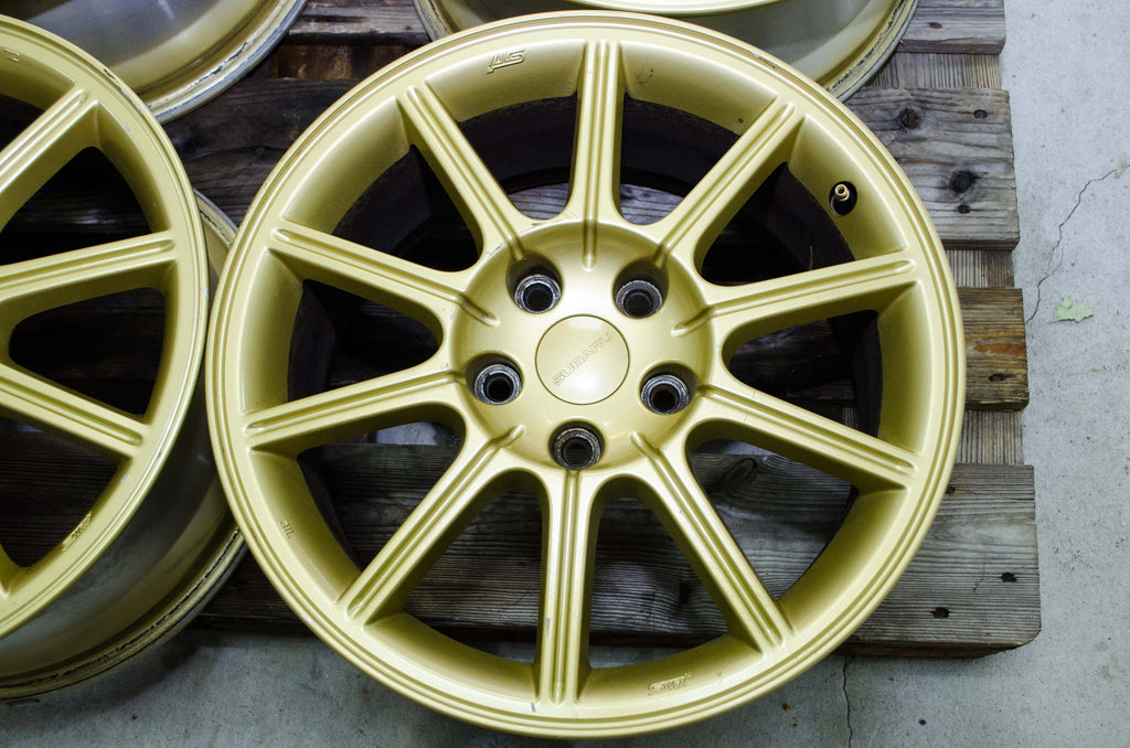 "Wheels - 17"" Subaru V9 STI Spec-C"