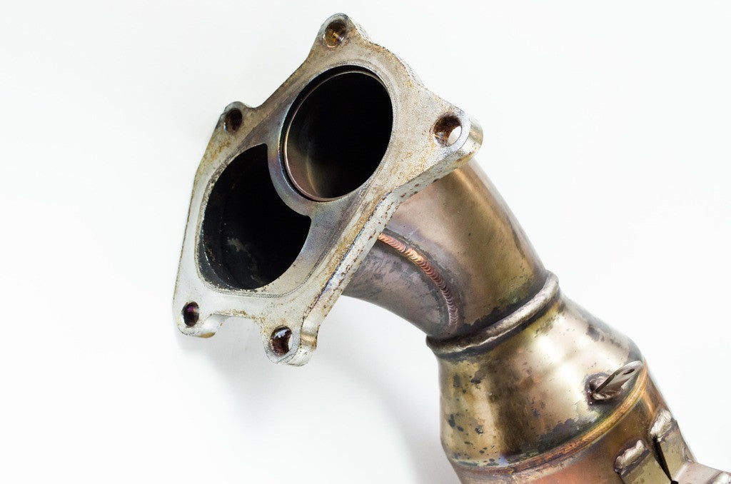 Downpipe - EJ207 Ver7 JDM SUBARU WRX STI JDM Length HKS Twin Scroll Downpipe