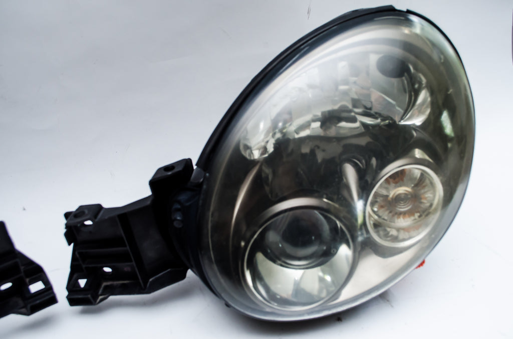 Head Lights - 2002-2003 Subaru Impreza WRX STi Version 7 Bugeye