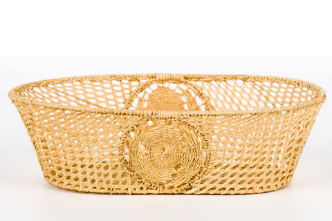 Raffia Oval - Medium