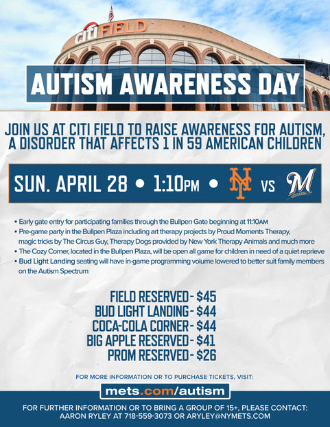 Join Us at Autism Awareness Day 2019!