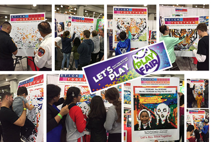StickTogether brings collaborative family fun to PlayFairNY / Javits Center