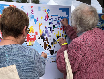 Helping Senior Family Members with Mosaic Puzzles