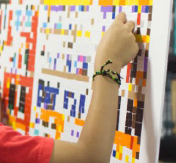 Colorful Collaborations Bridge Differences for Kids on the Autism Spectrum
