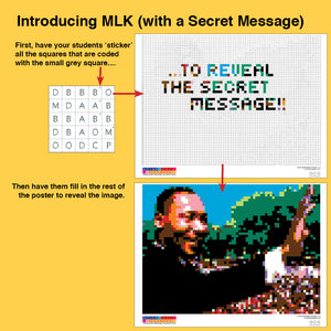 Martin Luther King (with Secret Message)