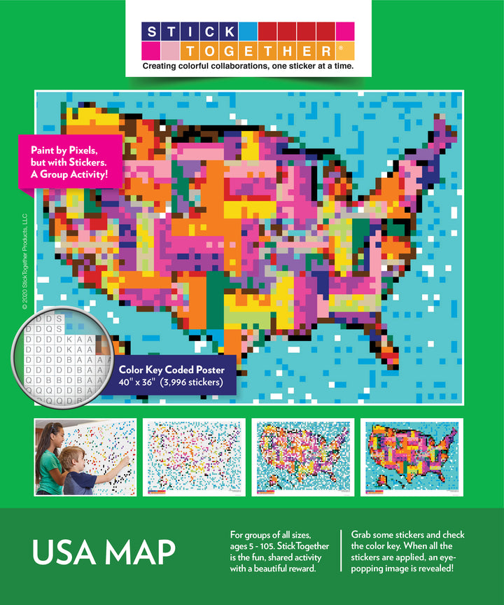 USA MAP - ON SALE!