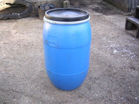 210 Ltr DRUM,LEGS,SPIRAL FEEDER