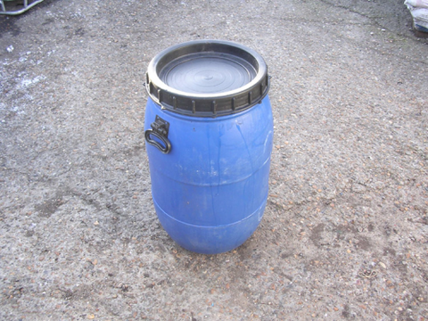 45 ltr SCREW TOP PLASTIC BARREL